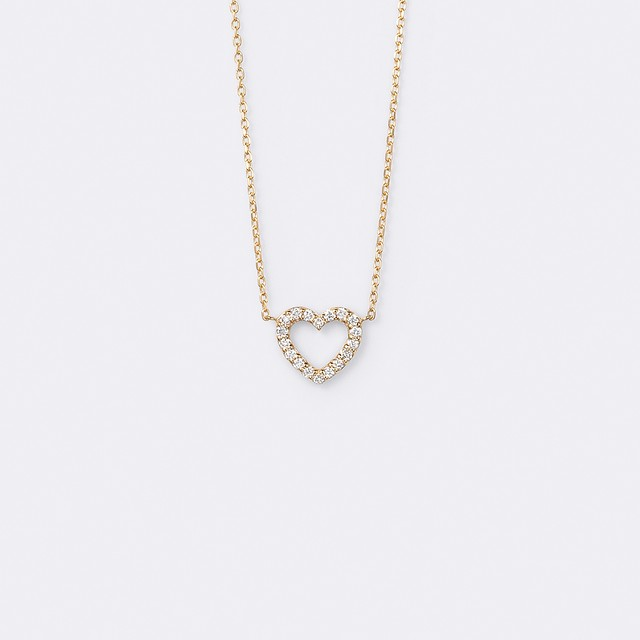 Le Coeur Necklace K18YG( ルクールネックレス K18イエローゴールド)