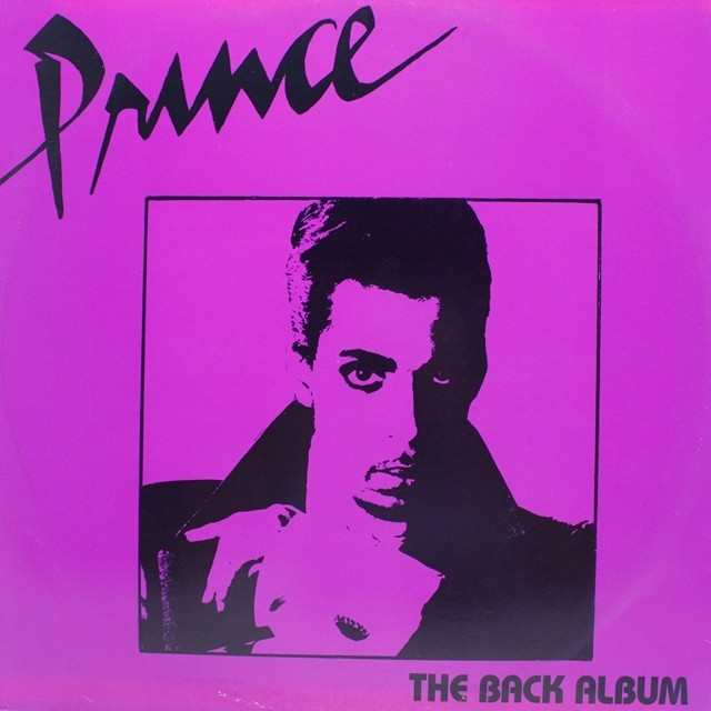 PRINCE / THE BACK ALBUM [PRB 01] - メイン画像