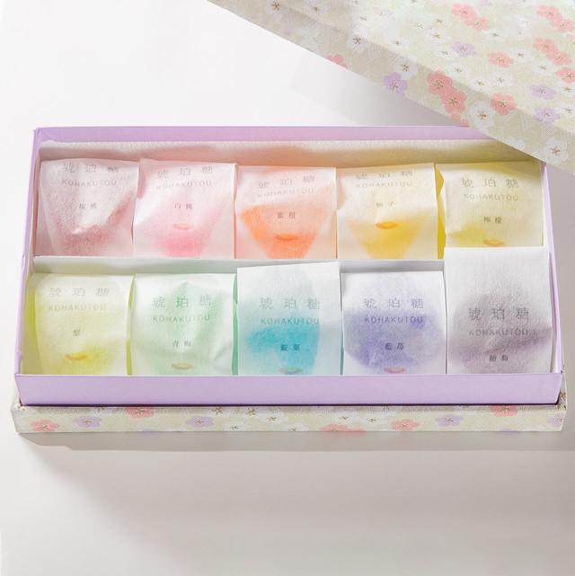 かきはちの琥珀糖 和袋10種セット