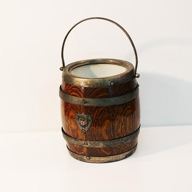 【R-44】紋章入り樽型アイスペール