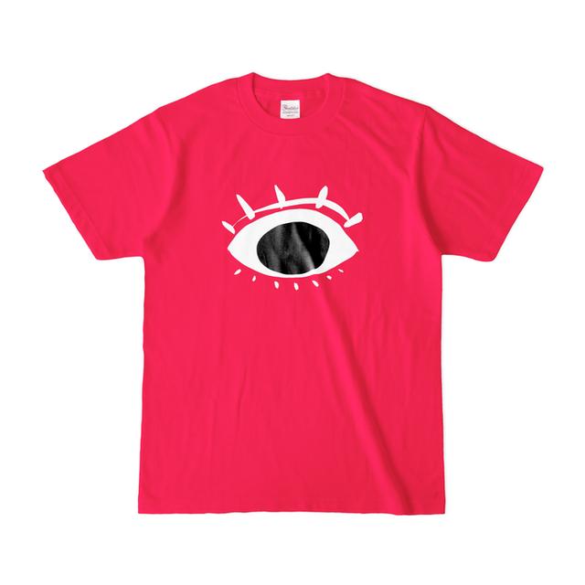 お目目さん*Tシャツ/ホットピンク