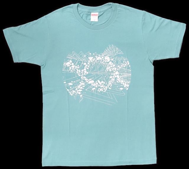 DUB SQUAD - MIRAGE Tシャツ(グリーン) - メイン画像
