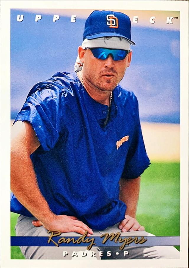MLBカード 93UPPERDECK Randy Myers #283 PADRES
