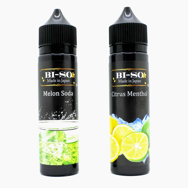 BI-SO 新作!! Melon Soda 60ml / Citrus Menthol 60ml