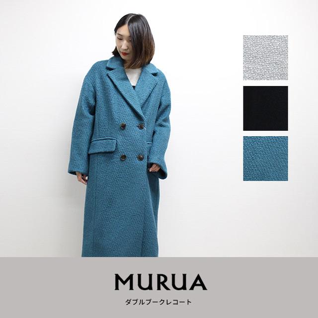 MURUA | ダブルブークレコート  011850000801