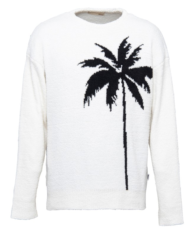 BIG PARM TREE CREW NECK MALL KNIT[REK051]