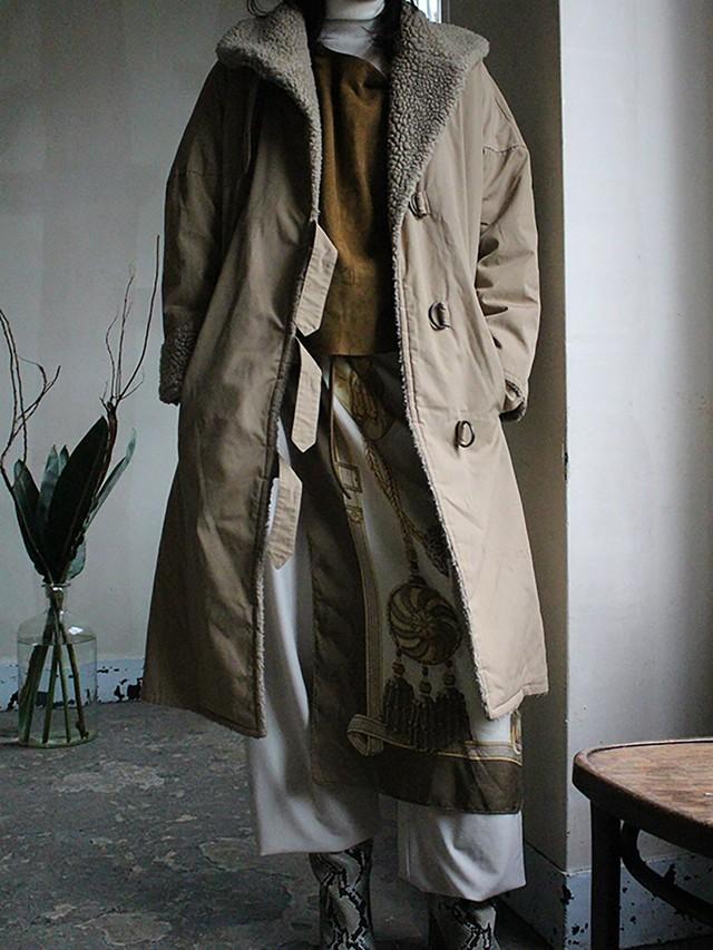 70s boa coat