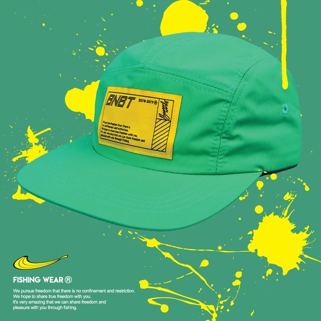 【Banana Bait】W/R Camp Cap Waterproof Fishing Hat / Green