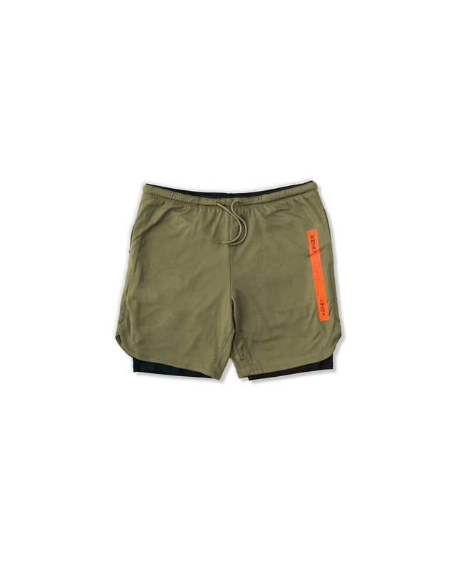 XENO CITY TOUGH LAYERED SHORTS Olive