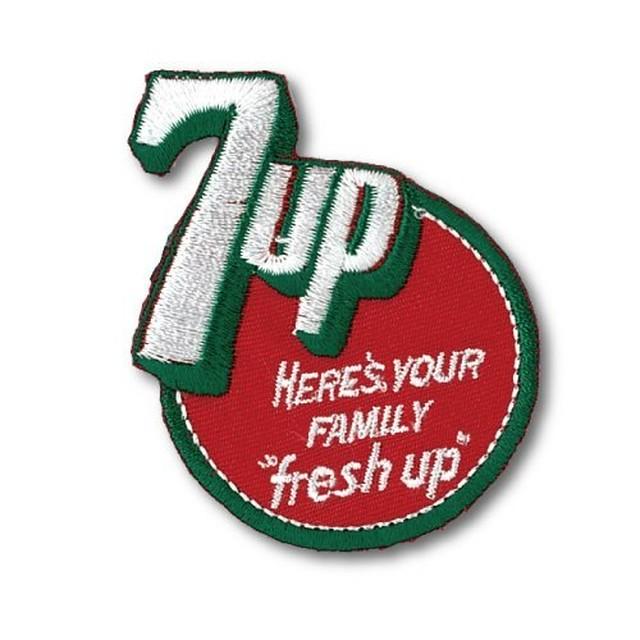 アイロンワッペン 7UP