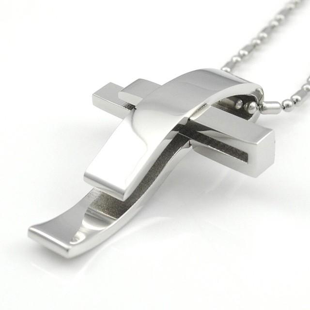 [再入荷]十字架デザインネックレス 3カラー