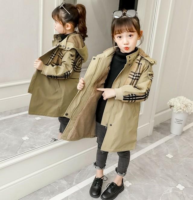 (KIDS)ステッカーもこもこジャンパー キッズ 子供服 もこもこ キッズアウター 韓国ファッション