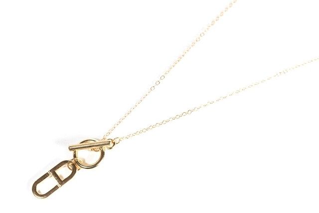 【316L anchor necklace】 / GOLD