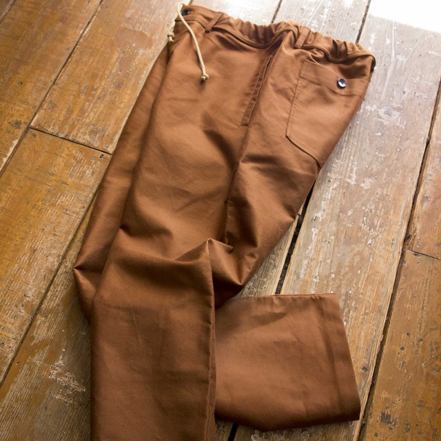 新入荷[ACTS] WIDE EASY PANTS  A52003 (BLACK)