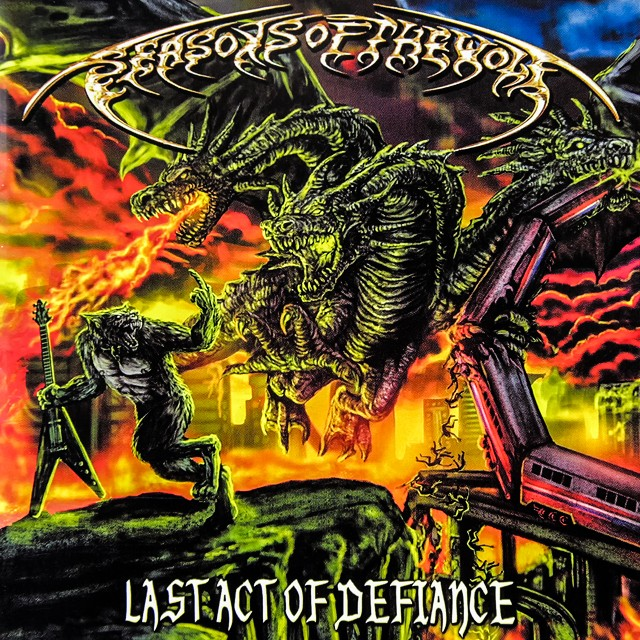 SEASONS OF THE WOLF『Last Act Of Defiance』CD