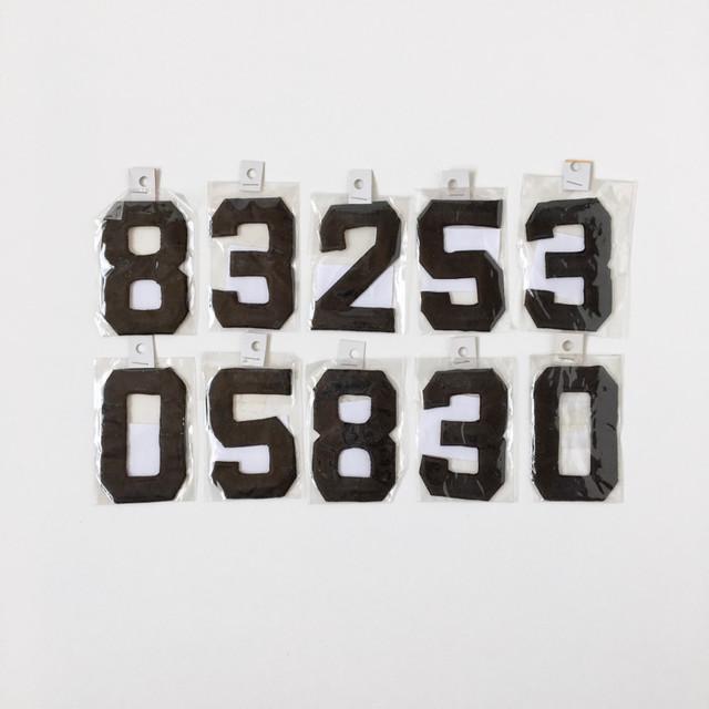 数字のワッペン|Uniform Number Wappen