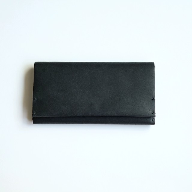 long wallet - bk - プエブロ