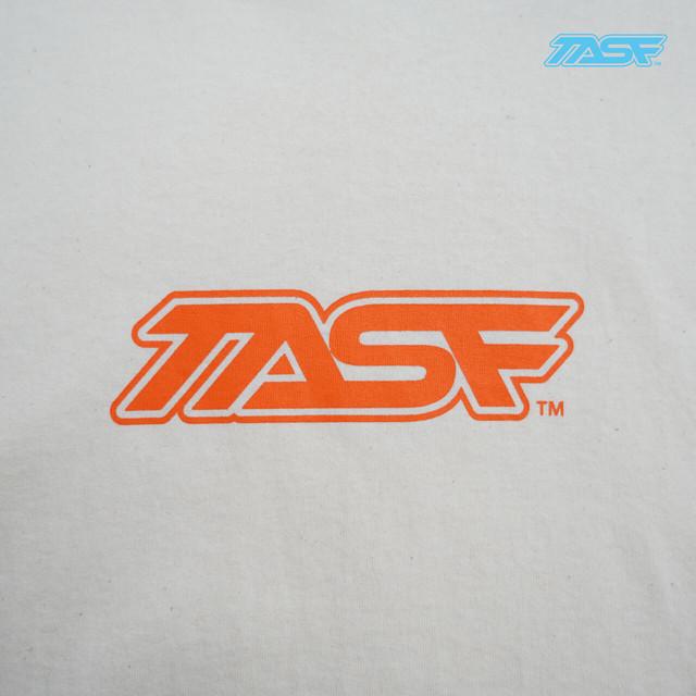 TASF  /   L/S Tee  / YodoRiver  /  Natural×Orange