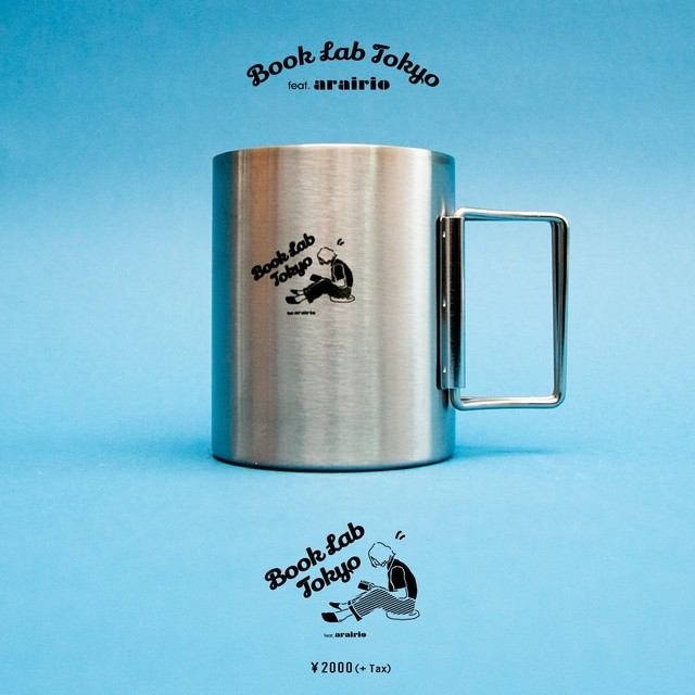 BOOK LAB TOKYOコラボ マグカップ (白)