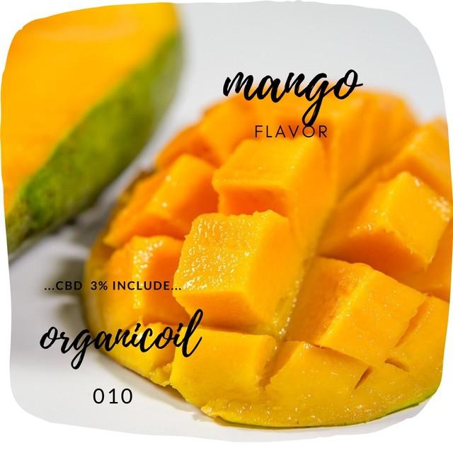 Organic Oil Mango Flavor CBD-3%