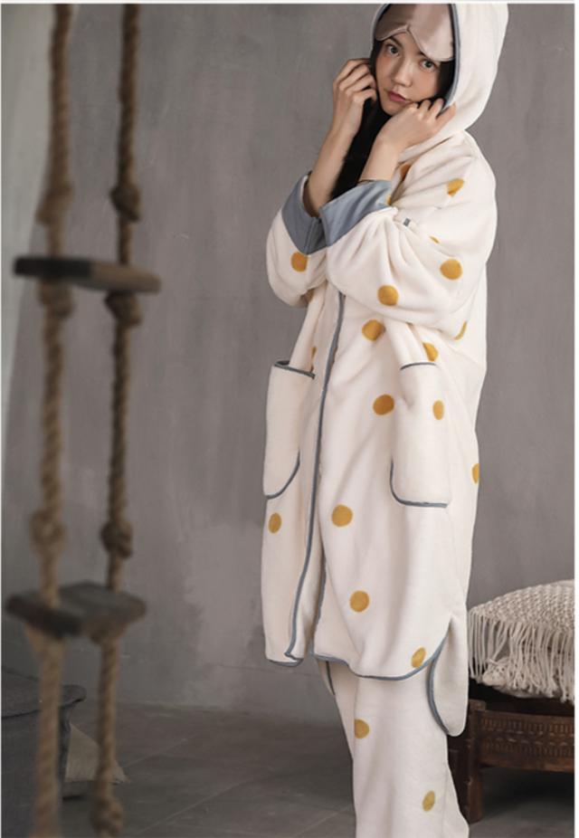 ペアパジャマ お揃い カップル 着物 甚平 ルームウェア  ナイトウェア リラックスナイトウェア  フリーサイズ カジュアル 男女色違い