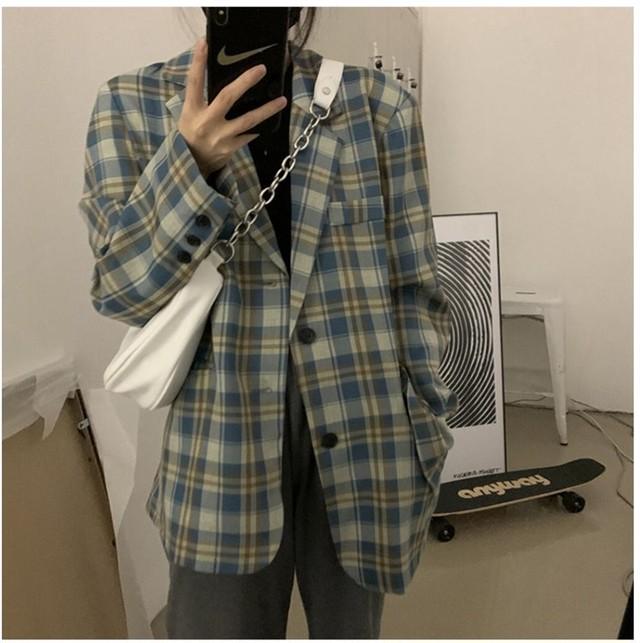 ストリートチェックジャケット【street check jacket】