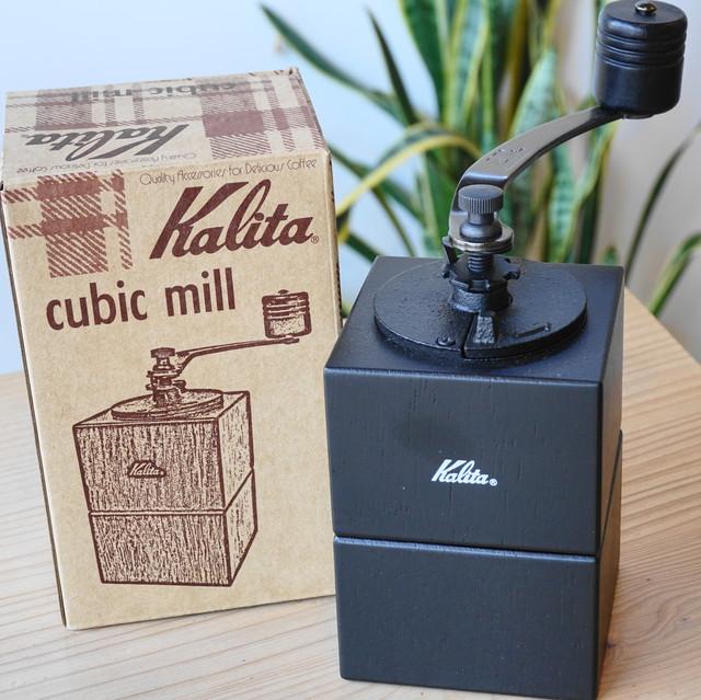 kalita コーヒーミル cubib mill BK