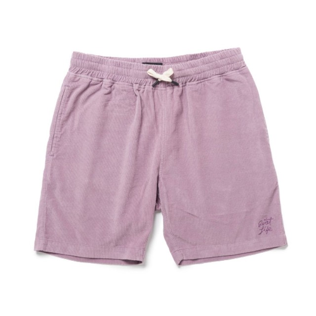 THE QUIET LIFE CORD BEACH SHORT PINK