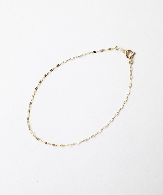 【ISOLATION / アイソレーション】K10YG Petal Chain Bracelet
