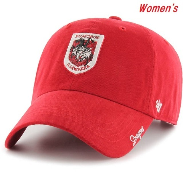 Illawarra Dragons Women's CLEAN UP Cap Red