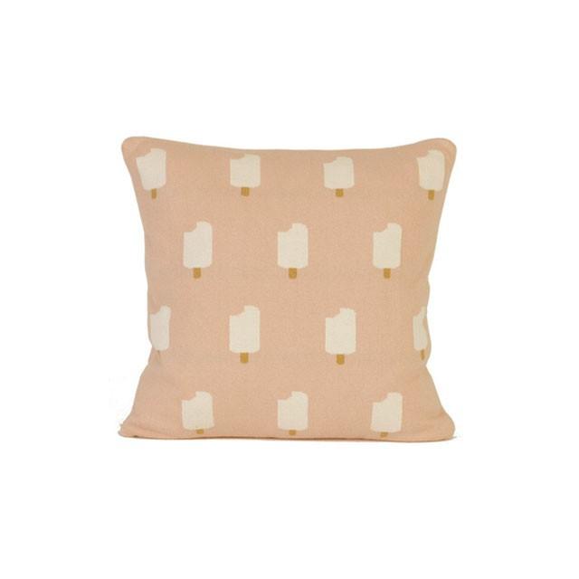 クッション / Ice Cream Cushion (Pink) 35×35cm (アイスクリーム) / WOOUF! BARCELONA (ウーフバルセロナ)