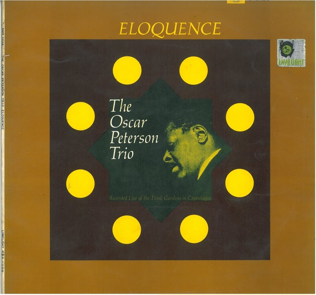 THE OSCAR PETERSON TRIO / ELQUENCE (LP) 日本盤