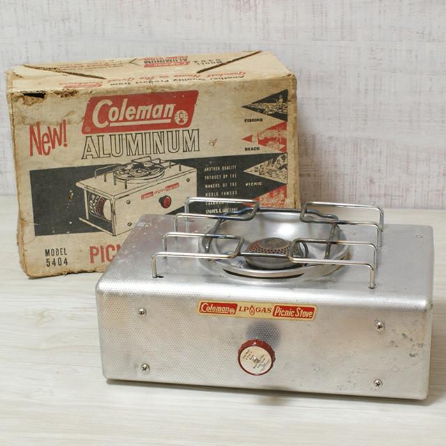 コールマン アルミ  ピクニックストーブ 5404 / Coleman aluminum picnic stove 5404 [AD08]