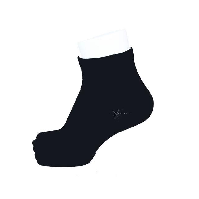 Inner-Fact 5Finger Short Socks (Black)