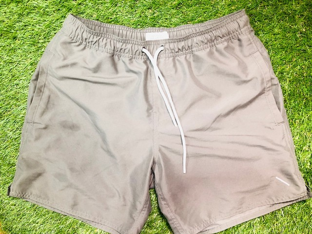 SATURDAYS SURF NYC BOARD SHORTS SMALL GREY 2.75JG7453