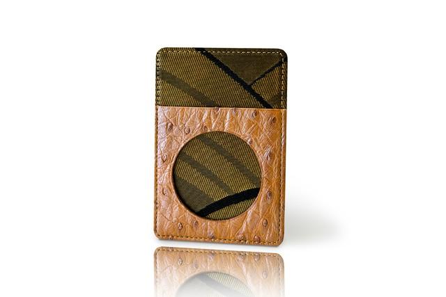 カードケース / 古代錦「波重ね」/ 黒a / OCC-KOD-M5-C2-6