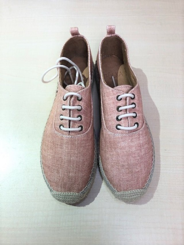 POLKA (ポルカ) 292P Col.Teja (Pink)  エスパドリュひも靴 スペイン製