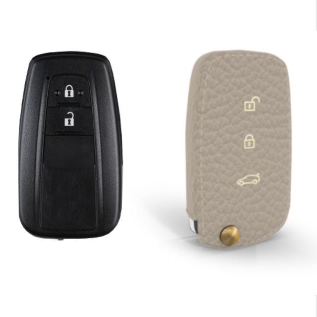 Toyota 専用 TypeA-1 Car Key Case Shrink Leather Case
