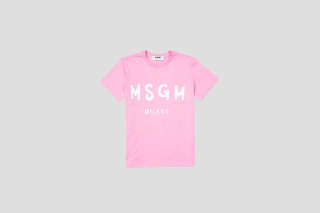【MSGM】レディース クルーネックTシャツ【2019SS】