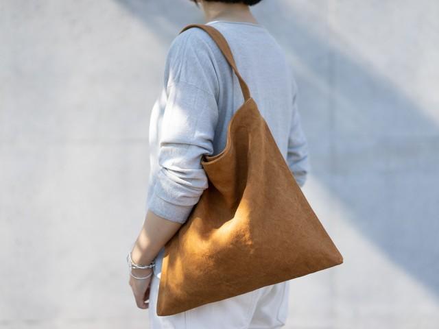 Holiday bag キャメル
