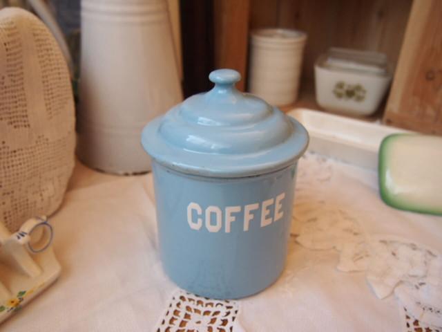 イギリスアンティーク キャニスター(COFFEE)