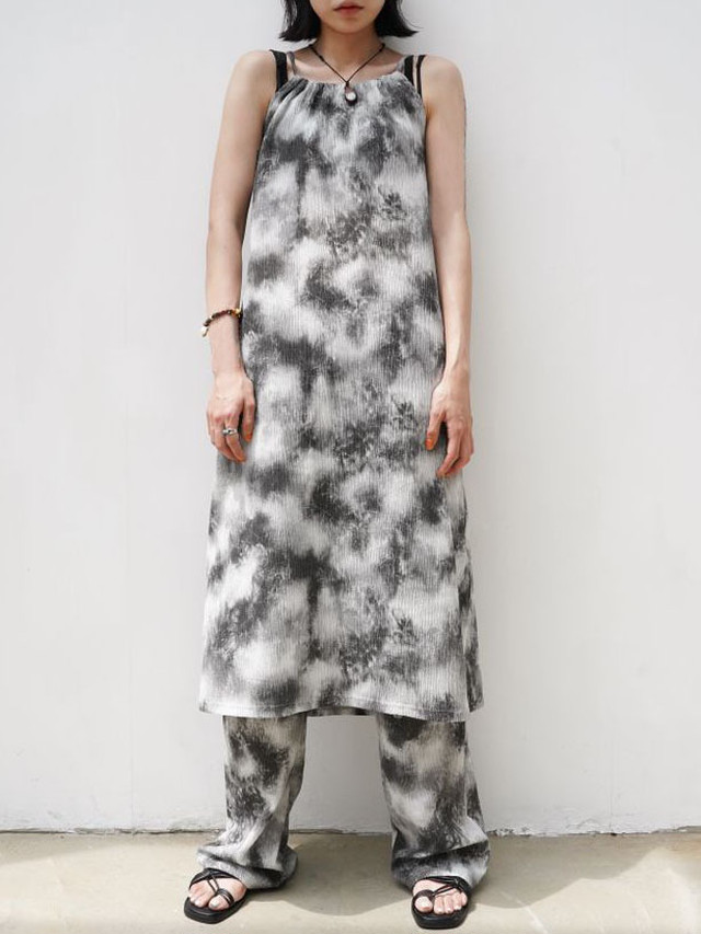 【WOMENS - 1 Size】TIEDYE MIST ONEPIECE / 2colors