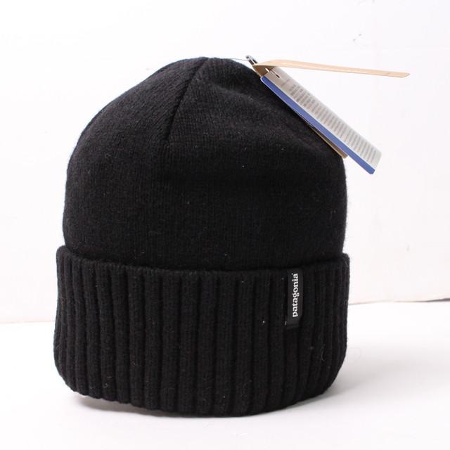 パタゴニア Patagonia Brodeo ニット帽 ブラック[全国送料無料] r015560