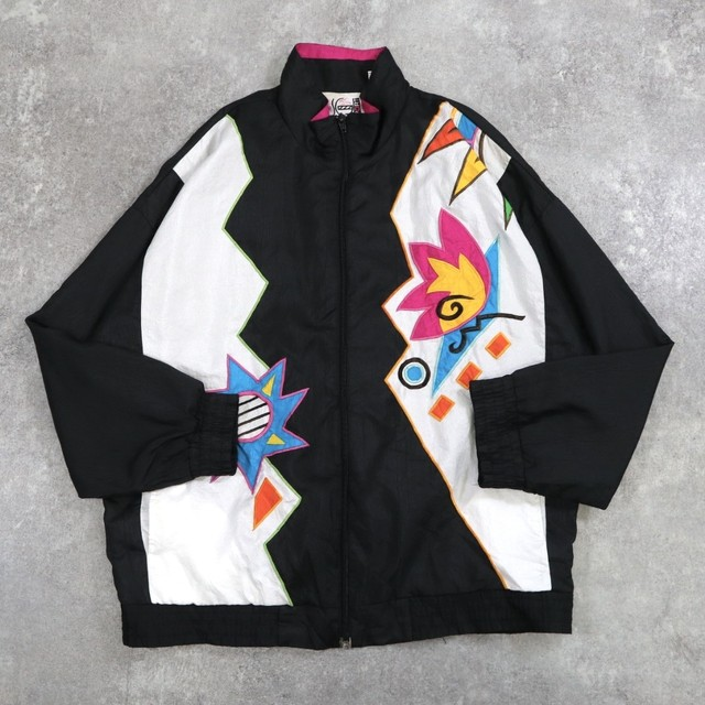 vintage switching design blouson