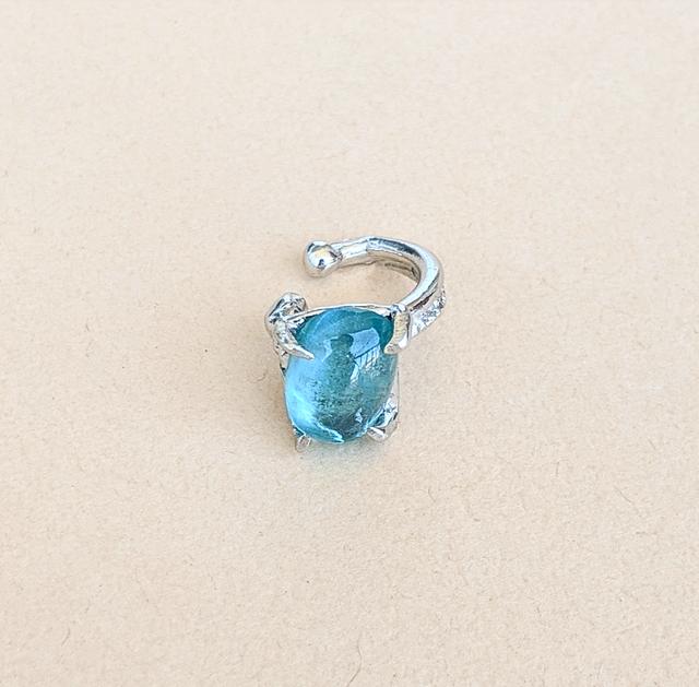 Blue Apatite Ear Cuff
