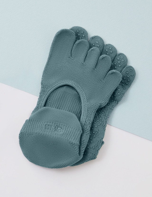 Core power Toe socks : Olive