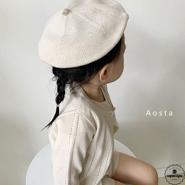 «sold out» Aosta summer beret 4colors ベレー帽