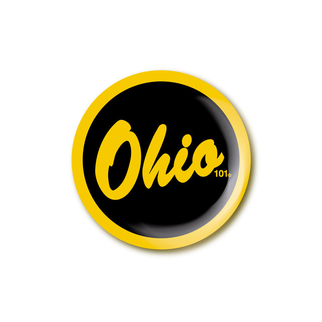 OHIO101 LOGO compact mirror
