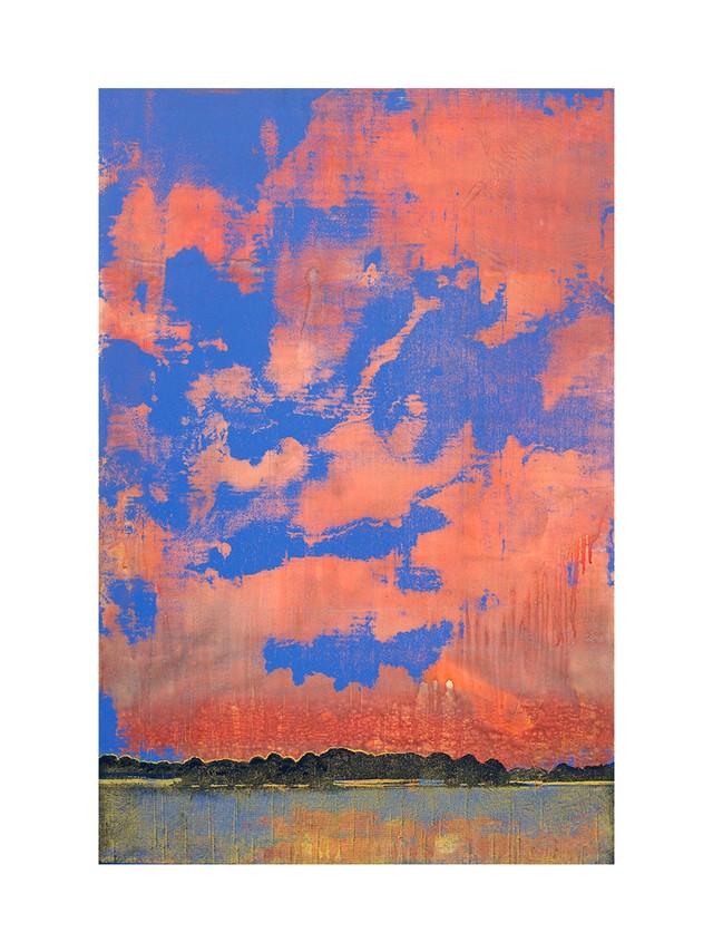 COLLIDER part 1 Screen Painting No.66 / Harry Adams