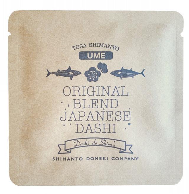 【地域生産】オリジナル出汁ドリップ (梅)